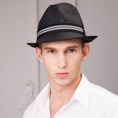 Men's Fashion Summer Cambric With Bowler/Cloche Hat