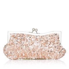 Elegant Sparkling Glitter With Beading Clutches