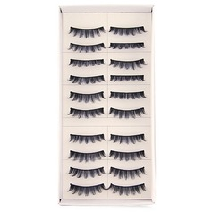 Manual Looking Curved Lashes 007# - 10 Pairs Per Box