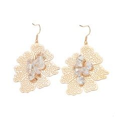 Beautiful Alloy With Zircon Ladies' Fashion Earrings