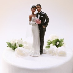 Sweet Love Resin Wedding Cake Topper