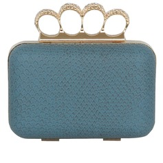 Elegant PU With Metal Clutches