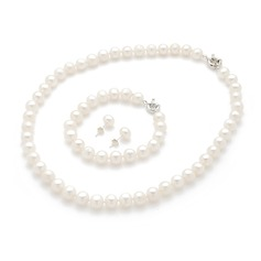 "Elegant ""A"" Level Pearl Ladies' Jewelry Sets"