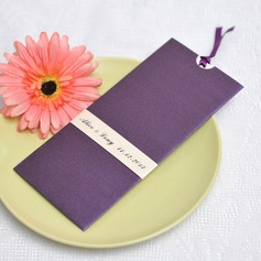 Personalized Vintage Style Wrap & Pocket Invitation Cards