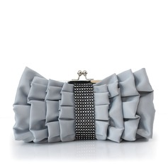 Gorgeous Silk/Crystal/ Rhinestone Clutches