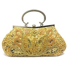 Shining Satin/Crystal/ Rhinestone With Crystal/ Rhinestone Clutches/Evening Handbags