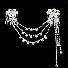 Special Rhinestone/Alloy Hair Jewelry
