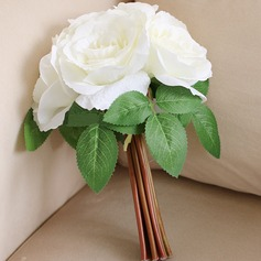 Attractive Artificial Silk Bridesmaid Bouquets/Decorations - (123104980)
