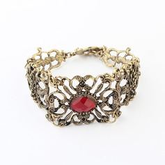 Vintage Alloy With Imitation Stones Women's Fashion Bracelets (137049423)