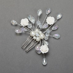 Pretty Crystal/Alloy Combs & Barrettes
