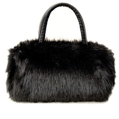Elegant Feather/Fur Fashion Handbags