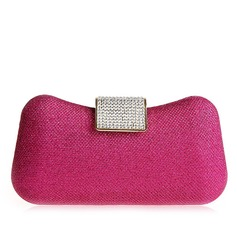 Fashional Metal With Rhinestone Clutches