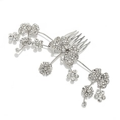 Simple Butterfly Alloy Combs & Barrettes