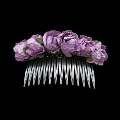 Beautiful Alloy/Paper Hair Combs