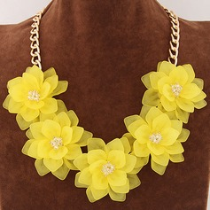 Unique Alloy With Resin Women's Fashion Necklace