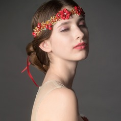 Classic Rhinestone/Alloy/Lace Headbands