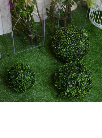 "10""(25cm) Ball Shaped Plastic/PE Decorative Accessories"