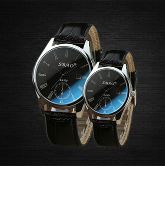 Fashional Leatherette/Metal Couples' Body Jewelry/Watches