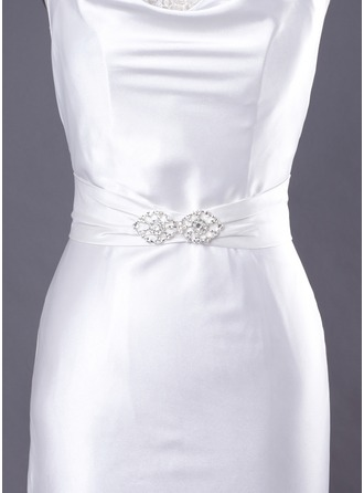 Satin Wedding/ Bridal Beaded Sash