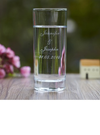 """Personalized """"Musical Notes"""" Glass Cup"""