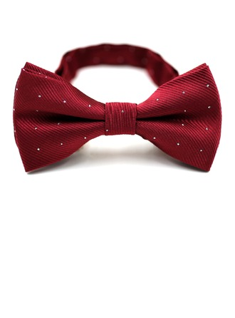 Dot Polyester Bow Tie