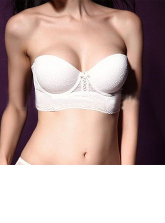 Lace/Cotton Push-up Bridal/Feminine Bra