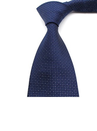 Formal Dot Polyester Tie