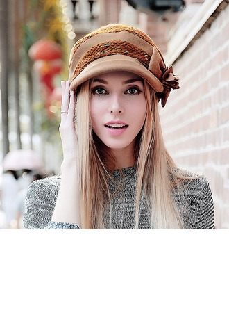 Ladies' Simple Spring/Autumn/Winter Acrylic With Beanie/Slouchy/Beret Hat