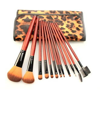 1 Accrocheur 12Pcs Léopard sac Maquillage