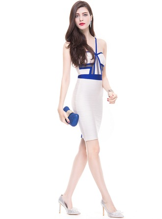 Sheath/Column Sweetheart Knee-Length Cocktail Dress