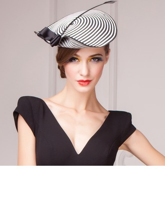 Ladies' Lovely Spring/Summer/Autumn Papyrus With Fascinators