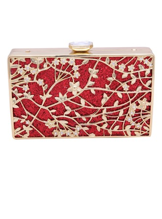 Fashional Crystal/ Rhinestone/Zinc Alloy Clutches/Fashion Handbags