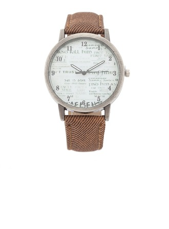 Fashional Alloy/Leatherette Ladies' Watches