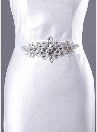 Fabulous Satin/Crystal Women's Wedding/Evening Belt