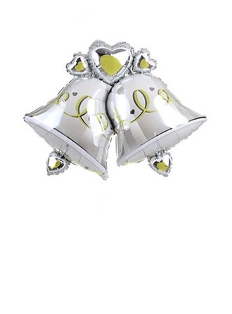 Cloches doubles Aluminium Foil Ballon