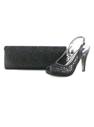 Elegant Lace Shoes & Matching Bags