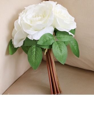 Attractive Artificial Silk Bridesmaid Bouquets/Decorations -