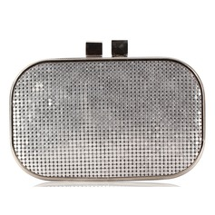 Cute Sequin With Metal Clutches