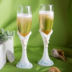 Beach Theme Toasting Flutes (126063560)