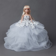 Lovely Doll Tulle Sequin Toys