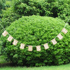 """""""Love is sweet"""" Kraft Paper Photo Booth Props/Banner"""