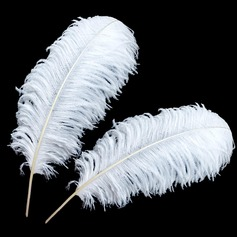 Beautiful Ostrich Feather Wedding Decorations