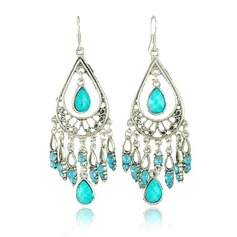 Stylish Alloy With Imitation Stones Girls' Fashion Earrings