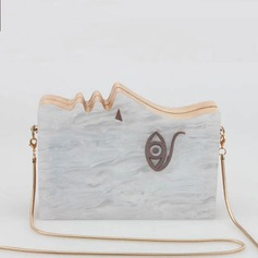 Lovely Acrylic/Wooden Clutches/Wristlets