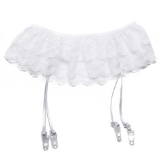 4-Strap/Elegant Wedding Garter Belt