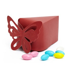 Butterfly Top Pyramid Favor Boxes
