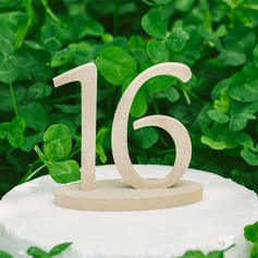 Number PVC Table Number