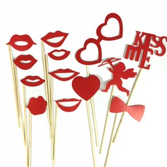 Cupid Card Paper Photo Booth Props