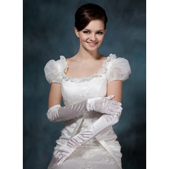 Elastic Satin Opera Length Party/Fashion Gloves/Bridal Gloves (014020511)