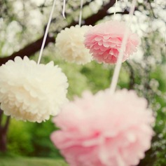 "5""(12.5cm) Ball Shaped Paper Flower"